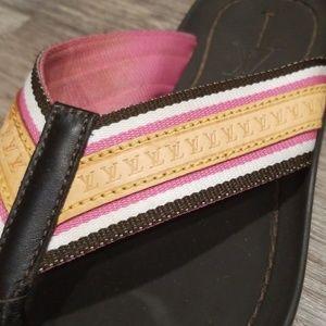 LV Louis Vuitton Flip Flops